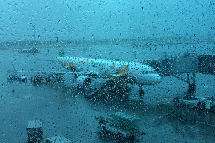 台湾旅行 EVA航空