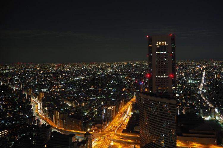 パークハイアット東京 夜景