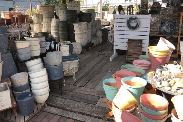 ヨネヤマプランテイション 鉢&プランター売り場