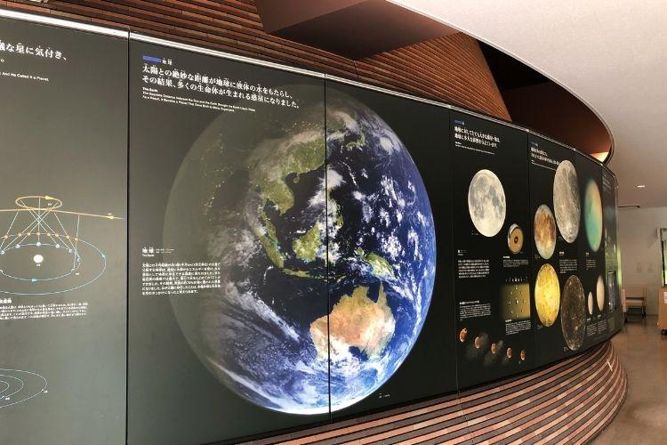 かわさき宙と緑の科学館 展示スペース