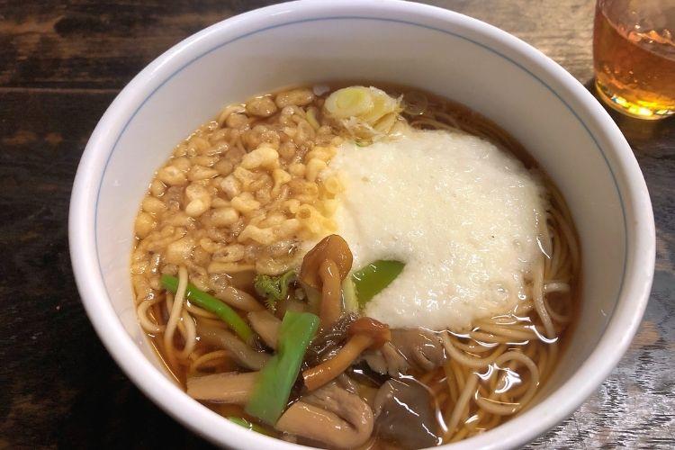 日本民家園 白川郷の蕎麦