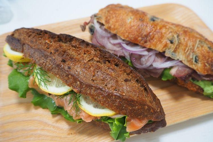 ブーランジェリーアダチ サンドイッチ