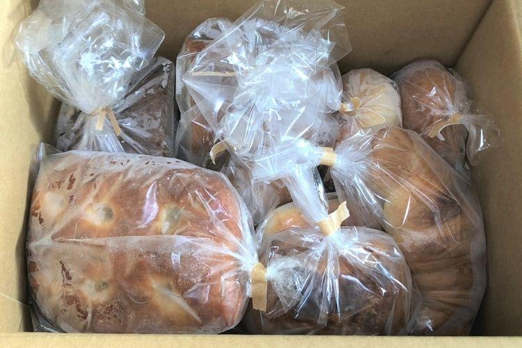 リベイク お取り寄せしたパン
