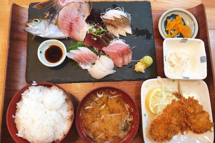 平塚漁港の食堂 ランチ