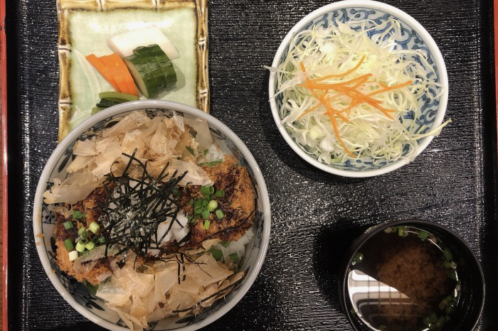 とんかつ武信 醤油カツ丼