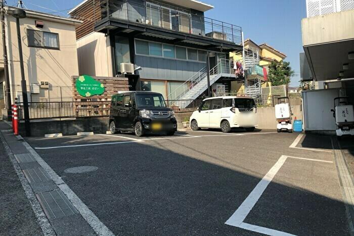とんかつ武信 駐車場