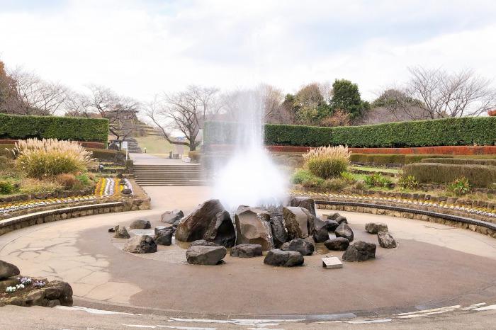 四季の森公園 噴水広場