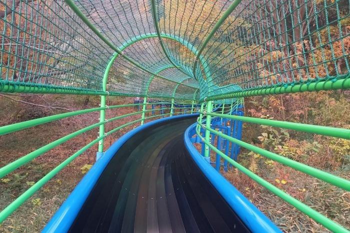 四季の森公園 滑り台