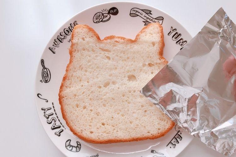 ねこねこ食パン 焼き方