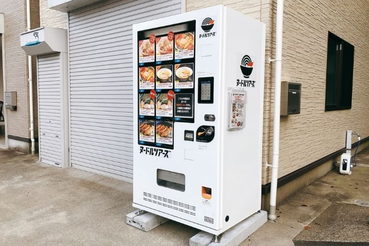 ヌードルツアーズ 神奈川川崎市の自販機
